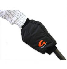 Fleece Lined Microfiber Handle Mitten